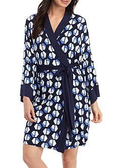 Jones New York Short Modal Geo Robe
