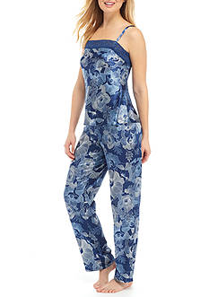 Jones New York Satin Cami and Pant Pajama Set