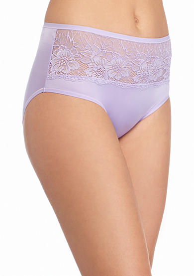 Bali® One Smooth u® Comfort Indulgence Satin Lace Hipster