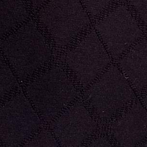 Purple Plus Size Panties: Diamond Black Bali Microfiber Brief