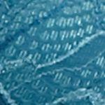 Underwire Bra: Dark Water Teal Bali Lace Desire Underwire Bra - 6543