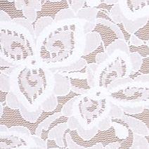 Shapewear Bodysuit: White Bali Lace Body Briefer - 8L10