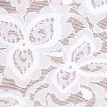 Lace Lingerie: White Bali Lace Body Briefer - 8L10