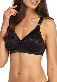 Double Support Front Closure Wire-free Bra - DF1003
