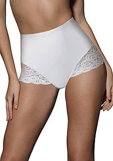Bali 2-Pack Firm Control Brief With Lace X054