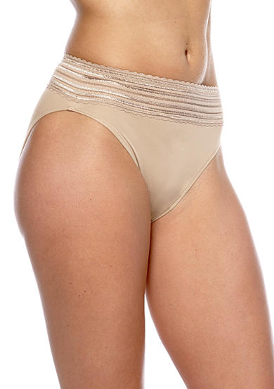Warner's® No Pinching - No Problems High-Cut Brief