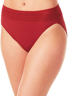 Warner's® No Pinching. No Problems® Lace Hi-cut Brief - 05109