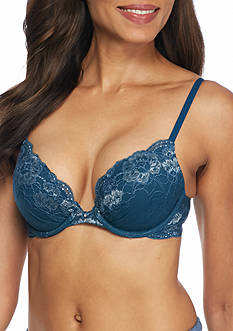 Maidenform® Comfort Devotion Embellished Plunge Push Up Bra - 09443