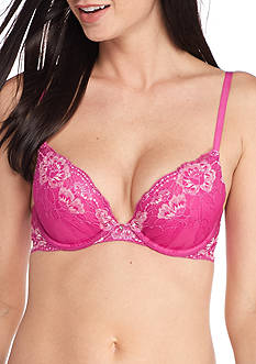 Maidenform Comfort Devotion Embellished Plunge Push Up Bra - 9443
