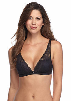 Maidenform® Fit to Flirt Plunge Wire-free Satin and Lace Bra - DM7962