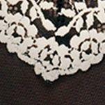 Wacoal: Black Wacoal Embrace Lace Chemise - 814191