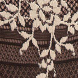 Designer Bridal Lingerie: Black Wacoal Embrace Lace Thong - 842191