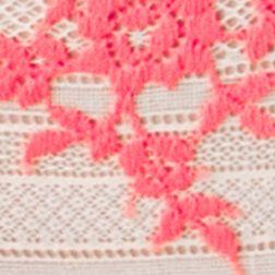 Luxury Lingerie: Antique White/Sugar Wacoal Embrace Lace Garter Belt - 848291