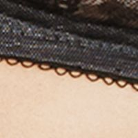 Women: Wire-free Sale: Black Wacoal Retro Chic Wire Free Bra - 852186