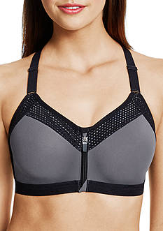 Wacoal Front Zipper Sports Bra - 853222