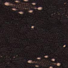 Purple Plus Size Panties: Black Wacoal Halo Thong - 879205
