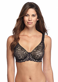 Lilyette® Beautiful Lace Minimizer Bra-  LY0977