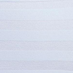 Purple Plus Size Panties: White Jockey Matte & Shine Hi-Cut Brief - 1306