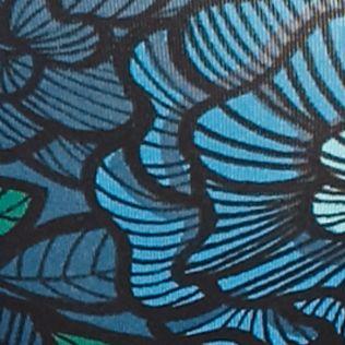 Boxer Briefs for Women: Tropical Floral/Leaf Jockey No Panty Line Promise Hi-Cut Briefs - 1338