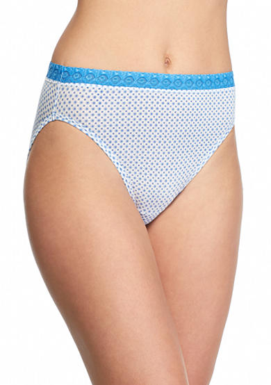 Jockey® Super Soft French Cut Lace Waist Brief - 2102