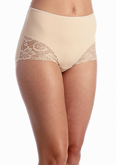 Jockey® Slimmers Microfiber Brief with Lace-4154