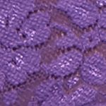 Purple Womens Lingerie: Cabo Purpe New Directions Lace String Bikini - 15J143