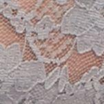 Women: Panties Sale: Gray/Aqua New Directions Intimates V-Lace Thong - 16J113