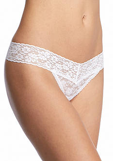 New Directions Intimates V-Lace Thong - 16J113
