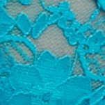 Women: Thong Sale: Turquoise Island New Directions Intimates V-Lace Thong - 16J113