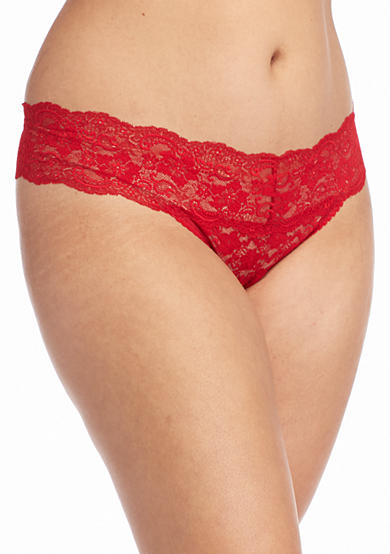 New Directions® Plus Size Lace Thong - 16J33X
