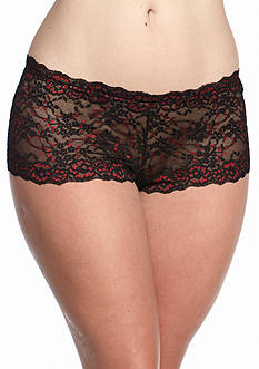 New Directions Intimates Plus Size Lace Colorway Hipster - P19J098