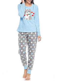 PJ Couture French Dog Pajama Set