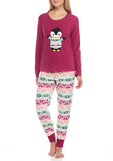 PJ Couture Penguin Pajama Set