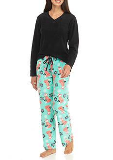 Age Group 3-Piece Fox Blanket Pajama Set