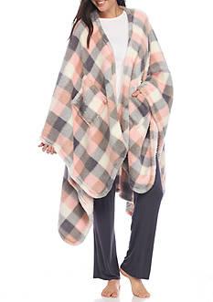 PJ Couture Buffalo Plaid Reader Wrap