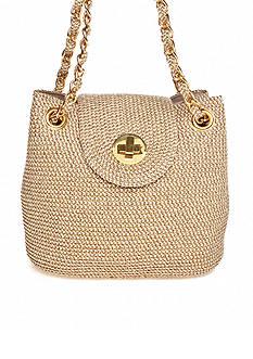 Kim Rogers Metallic Paper Shoulder Bag