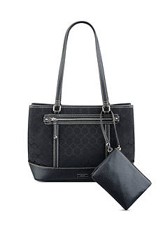 Nine West 9 Jacquard Tote Bag