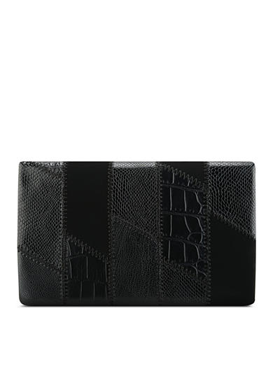 Nine West Patchworks SLGS Foldover Wallet