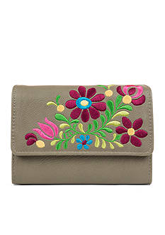 New Directions Boho Bloom Amsterdam Wallet