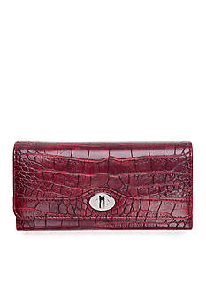 New Directions Croco File Master Clutch