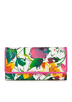 New Directions® Floral Saffiano Filemaster Wallet