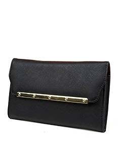 New Directions Modern Chic Saffiano Take Out Clutch
