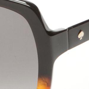 Square Sunglasses: Brown/Tortoise kate spade new york Darilynn Sunglass