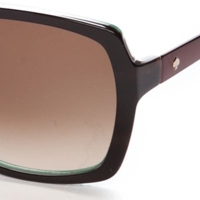 Square Sunglasses: Brown kate spade new york Darilynn Sunglass