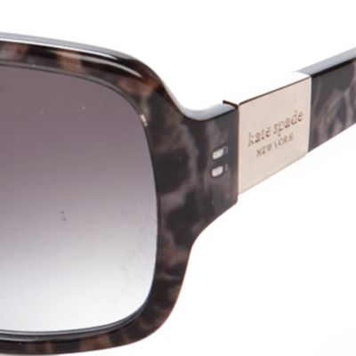 Fashion Sunglasses: Black Multi kate spade new york Lulu Sunglasses