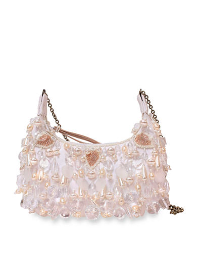 Mary Frances White Out Evening Bag