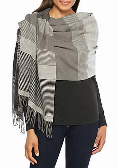 Echo Stripe Blanket Wrap
