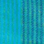 Winter Scarves for Women: Turquoise Echo Stripe Blanket Wrap