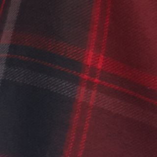 Winter Scarves for Women: Painter Red Echo Reversible Plaid Wrap
