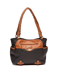 Rosetti Braided Persuasion Double Handle Bag